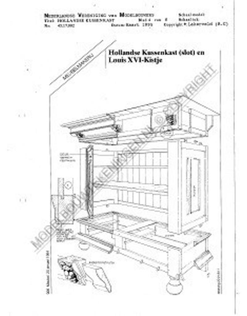 NVM 45.17.002 Hollandse kussenkast