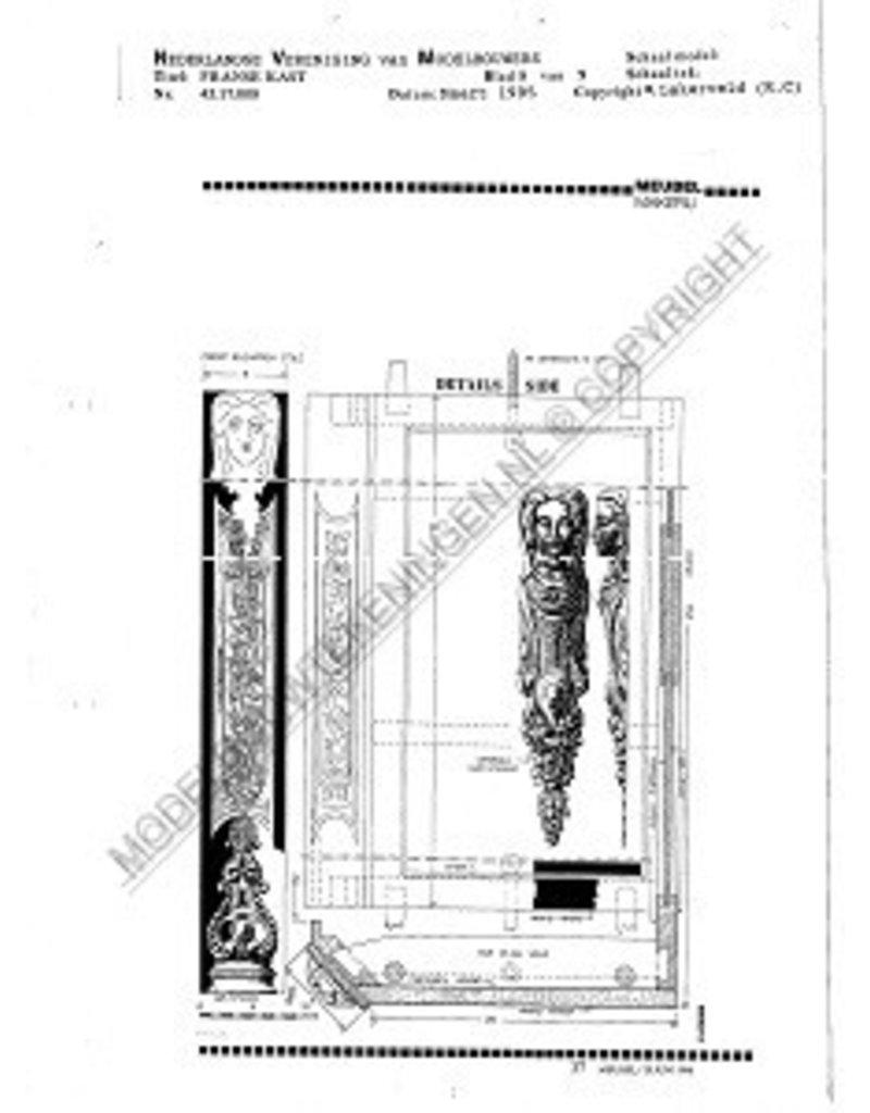 NVM 45.17.008 Franse kast