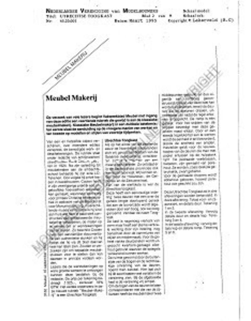 NVM 45.20.001 Utrechtse toogkast