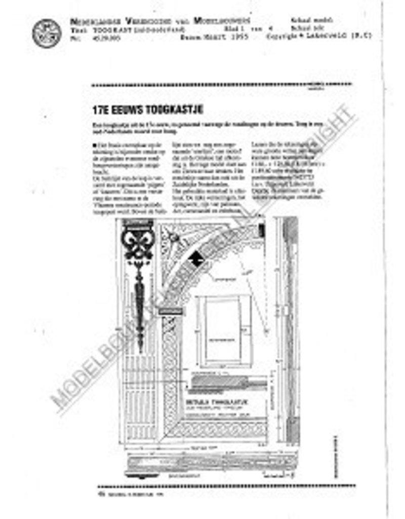 NVM 45.20.003 Zuid-Nederlandse toogkast