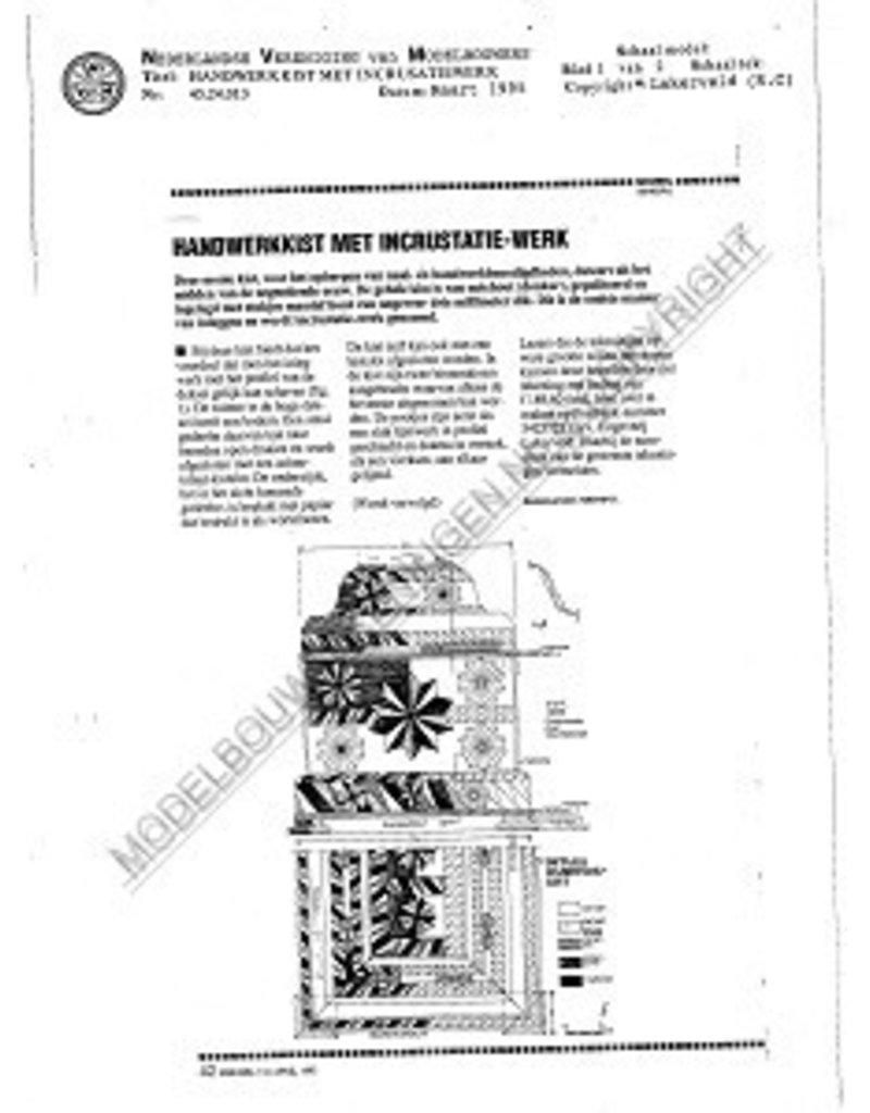 NVM 45.24.013 handwerkkist met incrusatiewerk