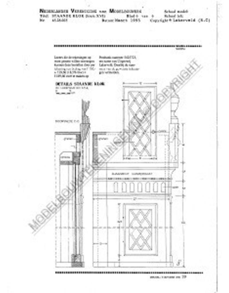 NVM 45.28.005 Louis XV staande klok