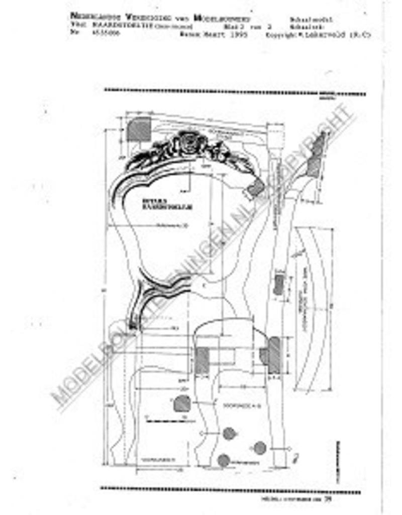 NVM 45.35.006 neo-rococo eetkamerstoel