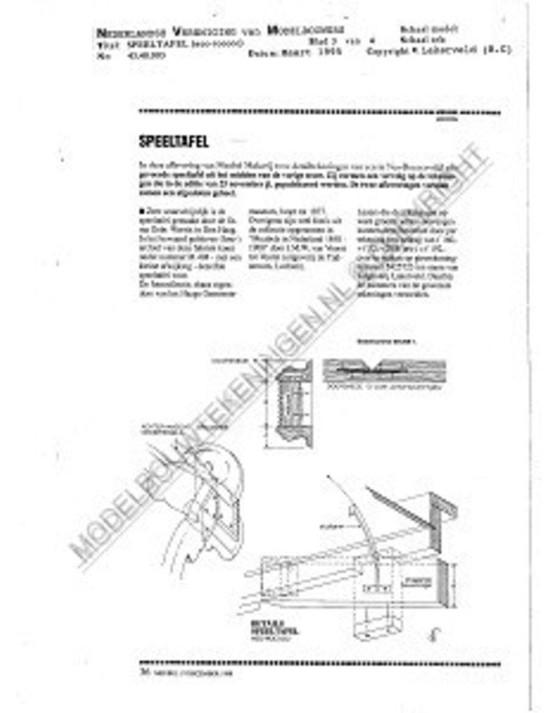 NVM 45.40.003 neo-rococo speeltafeltje