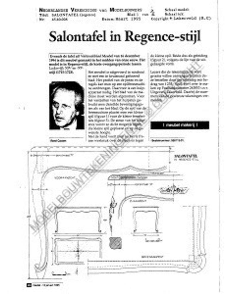 NVM 45.40.008 Regence salontafel