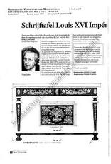NVM 45.40.017 schrijftafel Louis XVI Imperatrice