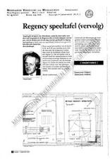 NVM 45.40.019 Regency speeltafel