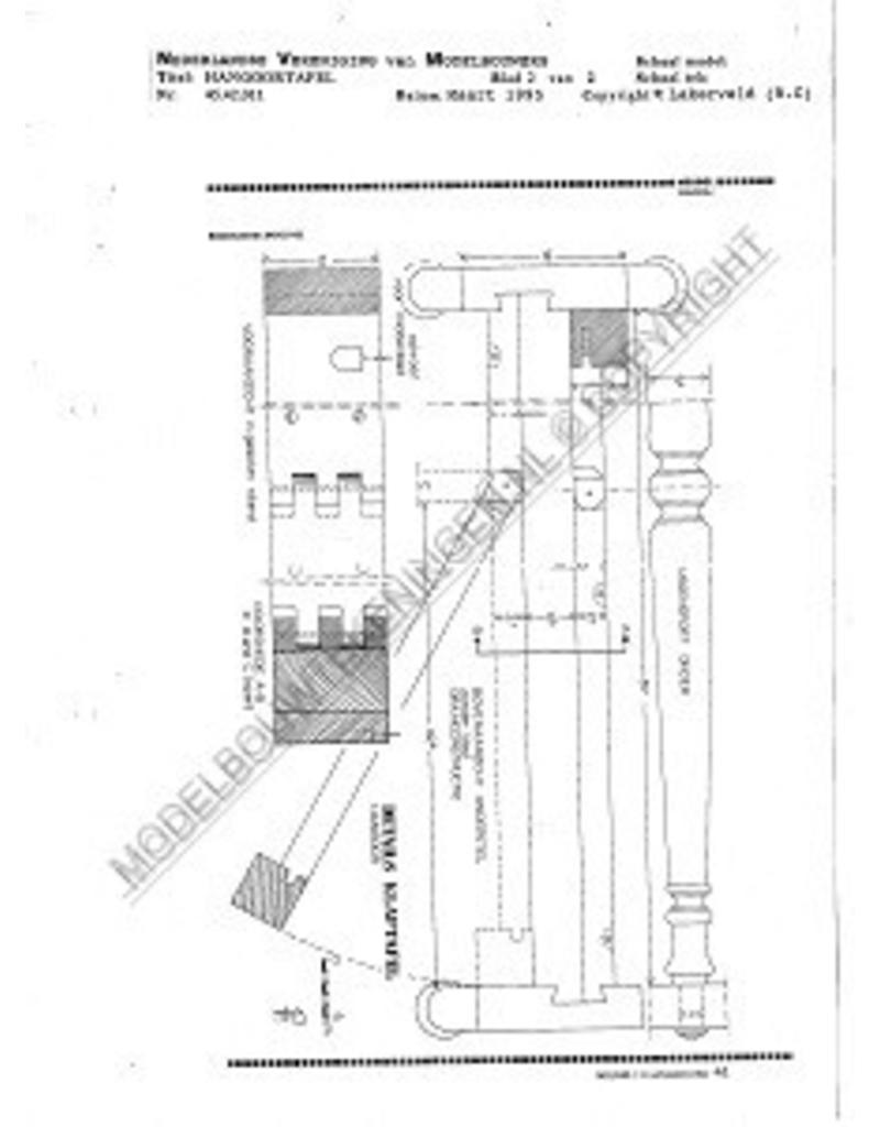 NVM 45.42.011 hangoortafel