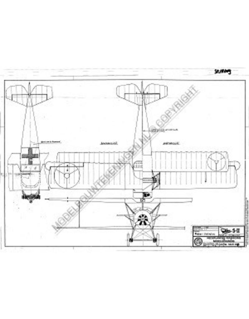 NVM 50.10.009 Fokker S11 militair lesvliegtuig