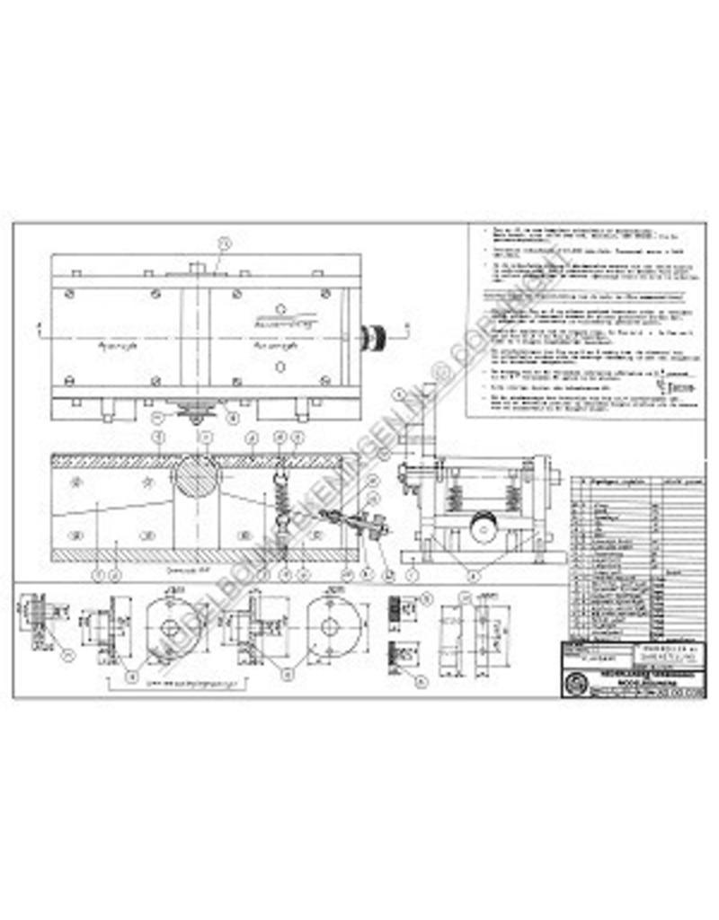 NVM 80.00.039 Vlakbank voor houtbewerking