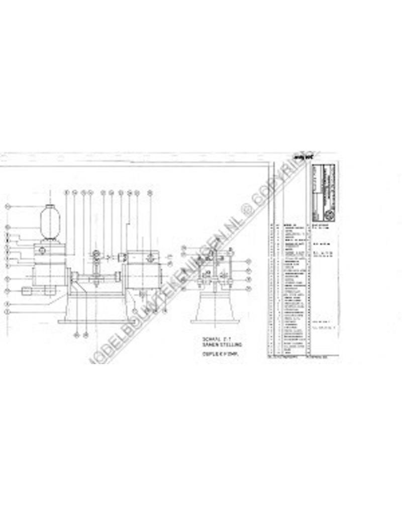 NVM 60.01.005 horizontale stoommachine