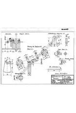 NVM 60.01.015 draaizuiger stoommachine met voedingspomp