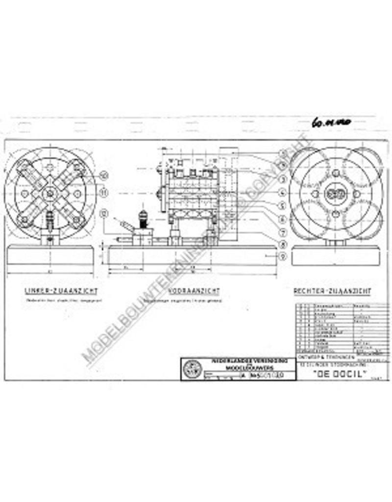 NVM 60.01.020 12 cyl. stoommachine De Docil