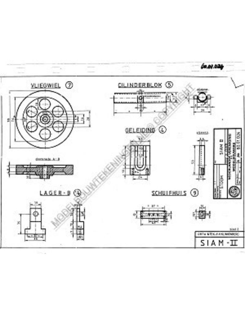 NVM 60.01.024 Siam II, horizontale stoommachine