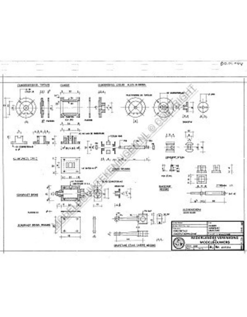NVM 60.01.044 1-cilinder horizontale stoommachine