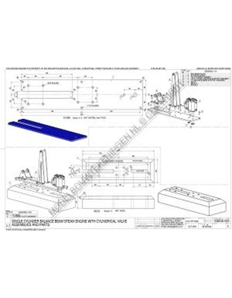 NVM 60.01.053/A eencilinder balans stoommachine met cilindrische schuif