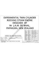 NVM 60.01.054 CD-Tweecilinder schommelzuiger-stoommachine; tekeningen en animaties