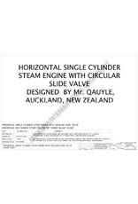 NVM 60.01.055 horizontale 1-cilinder stoommachine