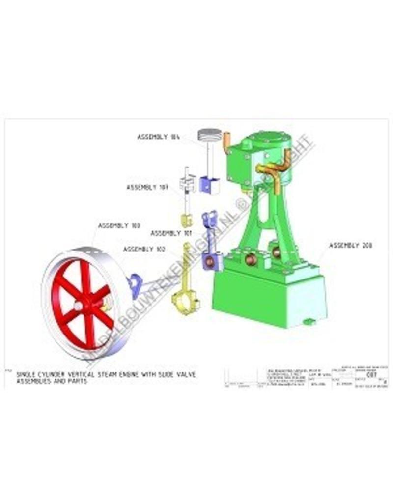 NVM 60.01.056 CD- vertikale stoommachine