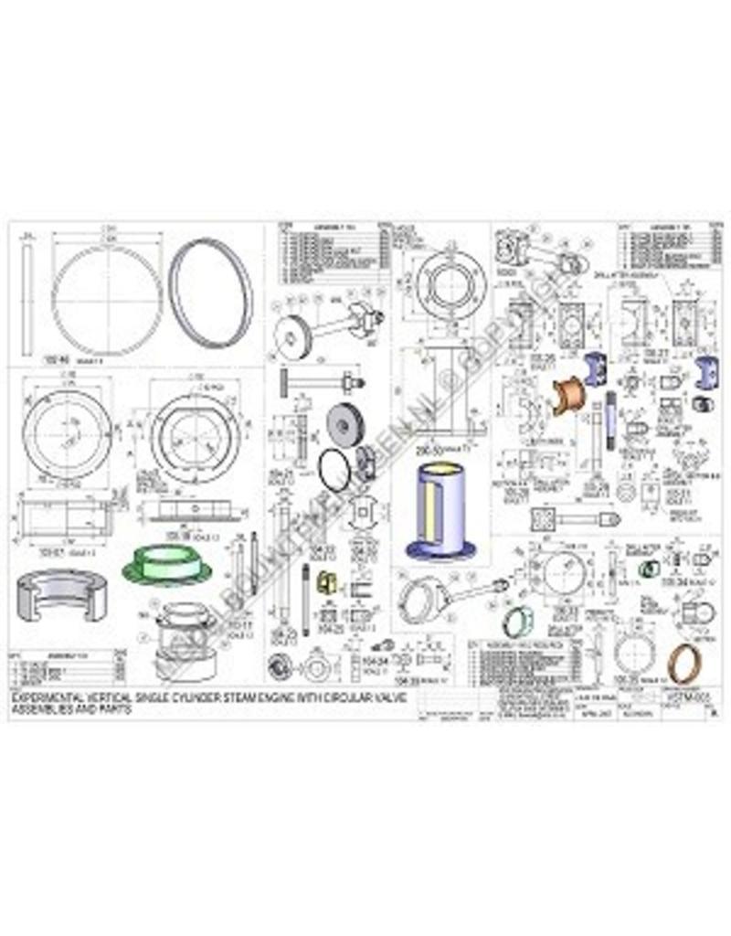 NVM 60.01.059/A Experimentele stoommachine met ringvormige schuif