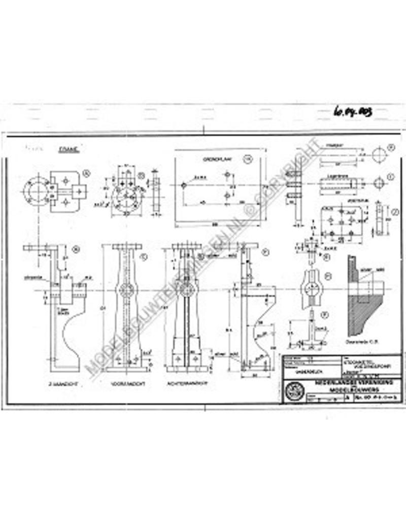 NVM 60.04.003 stoomketel voedingspomp met sleufkruishoofd