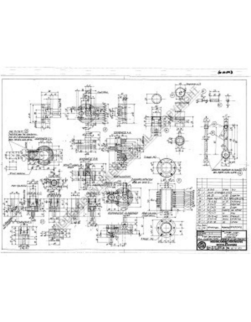 NVM 60.10.003 4-tact zuigklep benzinemotor 10cc