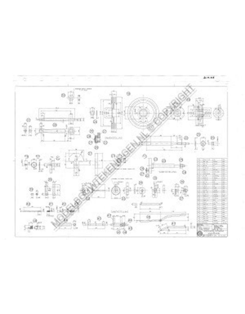 NVM 60.10.006 4-tact gasmotor met gloeibuisontsteking