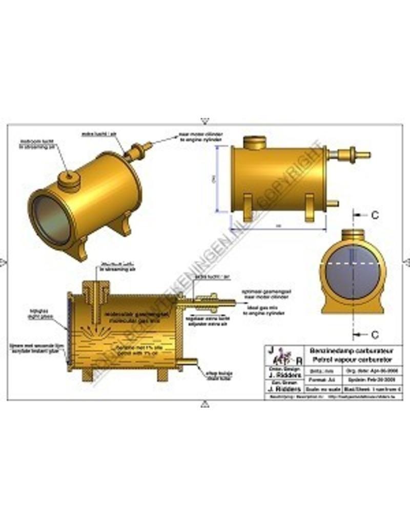 NVM 60.10.015 Benzinedampcarburateur
