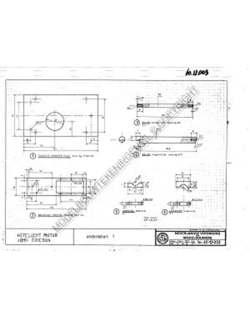 NVM 60.12.003 heteluchtmotor volgens principe John Ericson