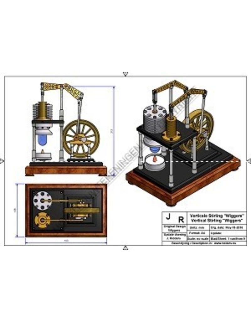 "NVM 60.12.025 Vertikale Stirlingmotor ""Wiggers"""