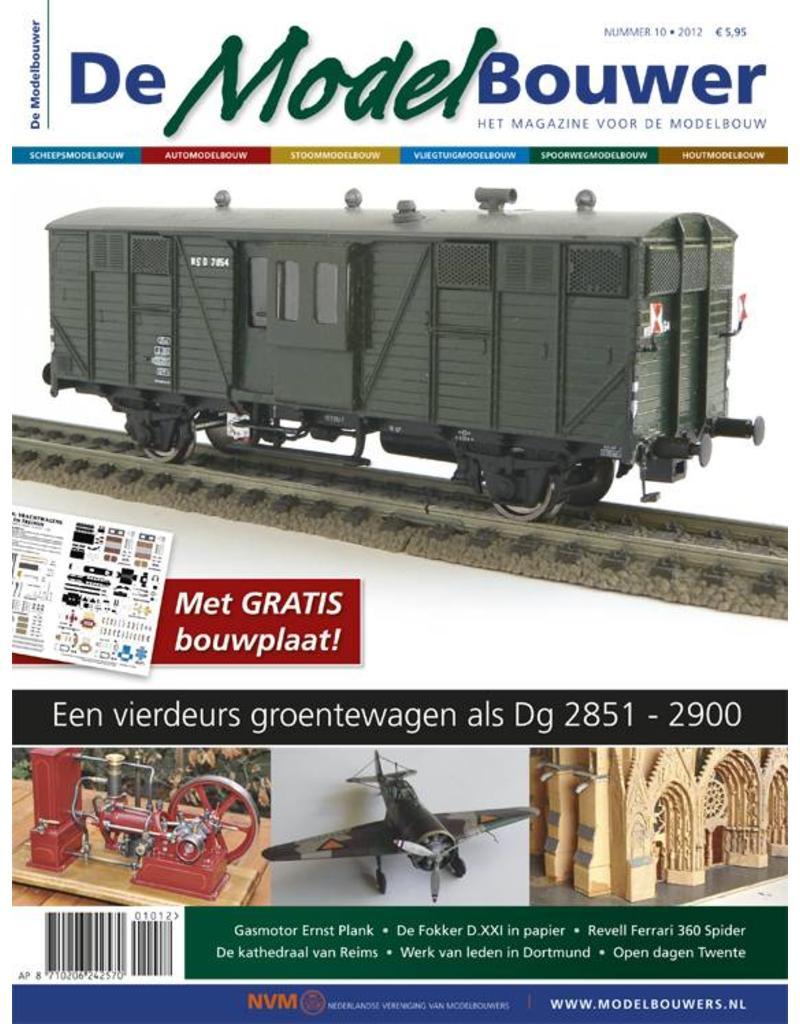 """NVM 95.12.010 Jaargang """"De Modelbouwer"""" Editie : 12.010 (PDF)"""