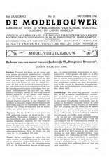 """NVM 95.41.011 Jaargang """"De Modelbouwer"""" Editie : 41.011 (PDF)"""