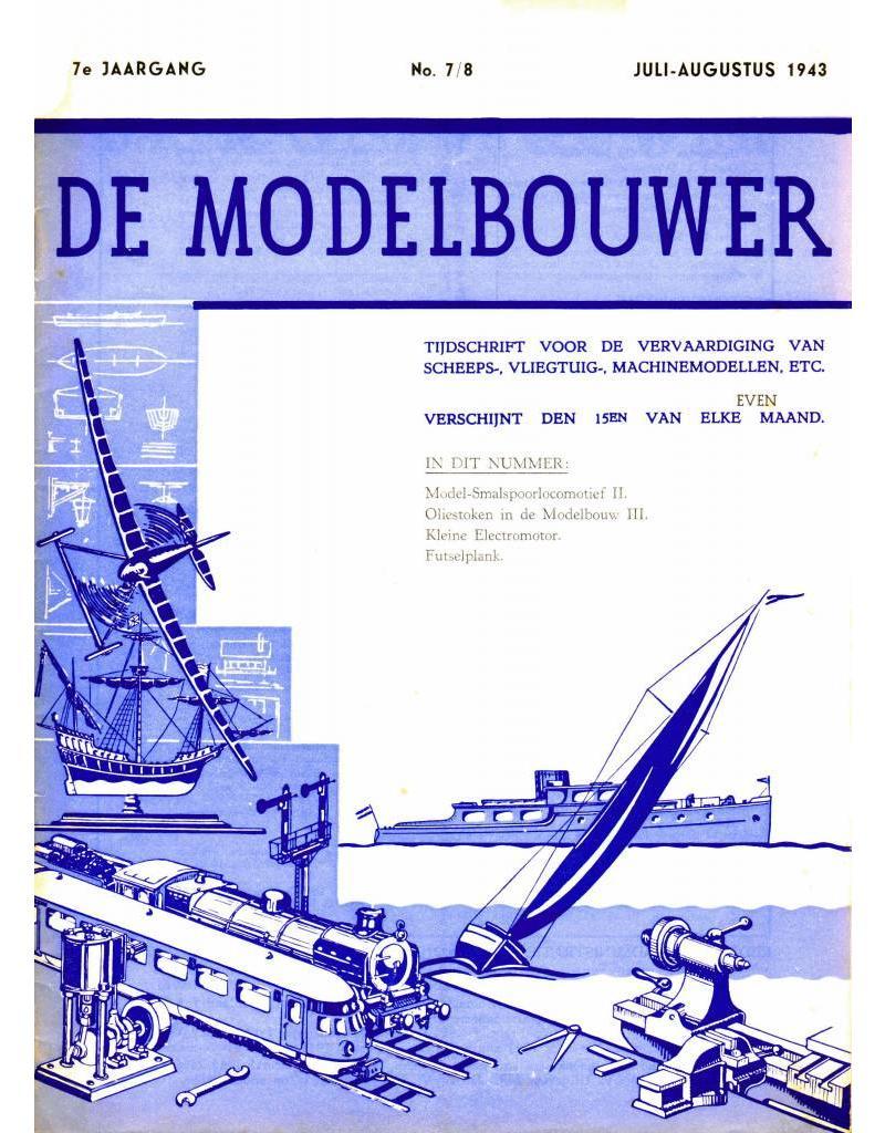 """NVM 95.43.008 Jaargang """"De Modelbouwer"""" Editie : 43.008 (PDF)"""