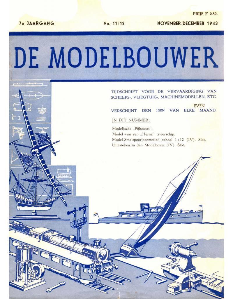 """NVM 95.43.012 Jaargang """"De Modelbouwer"""" Editie : 43.012 (PDF)"""