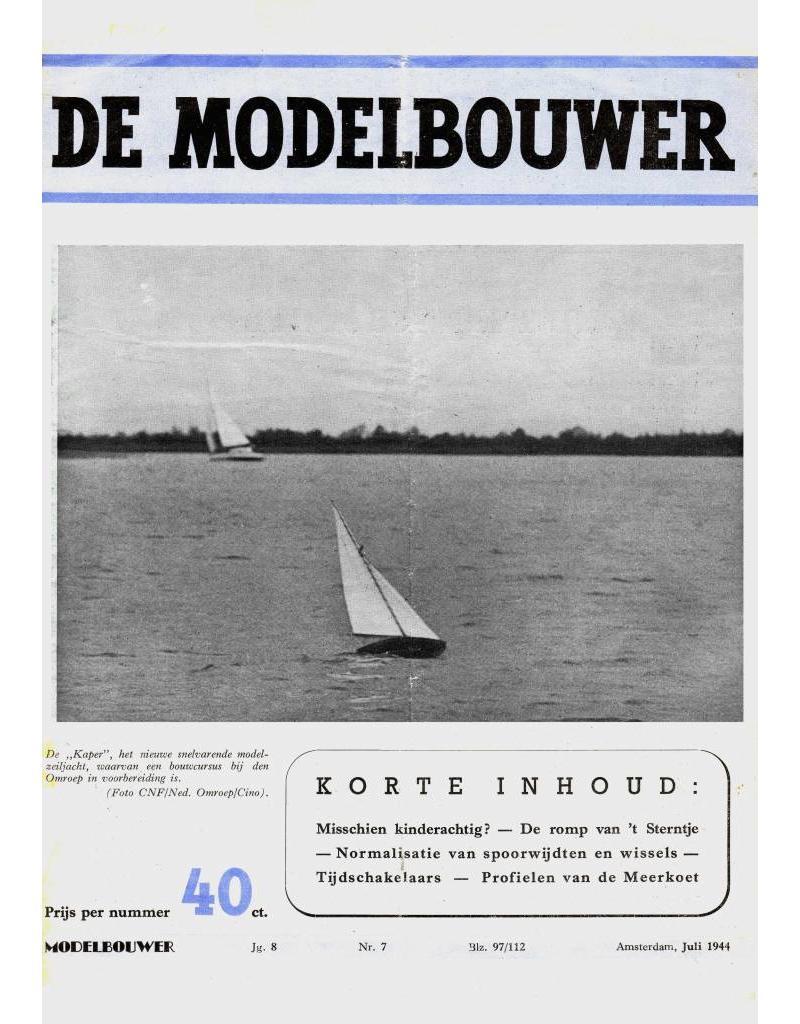 """NVM 95.44.007 Jaargang """"De Modelbouwer"""" Editie : 44.007 (PDF)"""