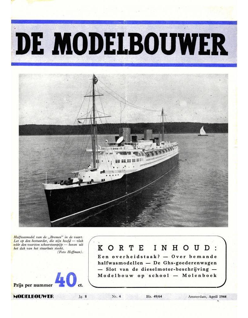 """NVM 95.44.004 Jaargang """"De Modelbouwer"""" Editie : 44.004 (PDF)"""