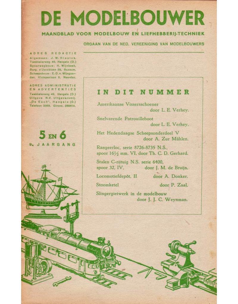 """NVM 95.47.006 Jaargang """"De Modelbouwer"""" Editie : 47.006 (PDF)"""