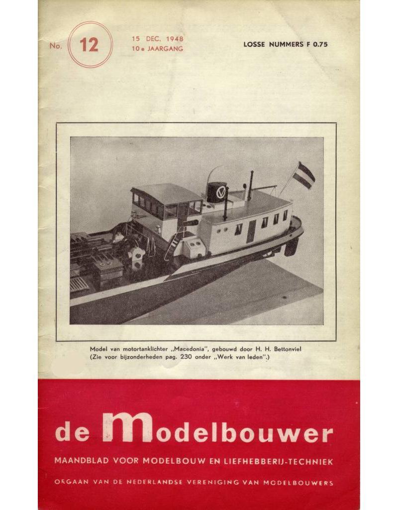 """NVM 95.48.012 Jaargang """"De Modelbouwer"""" Editie : 48.012 (PDF)"""