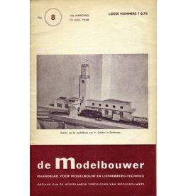"""NVM 95.48.008 Jaargang """"De Modelbouwer"""" Editie : 48.008 (PDF)"""
