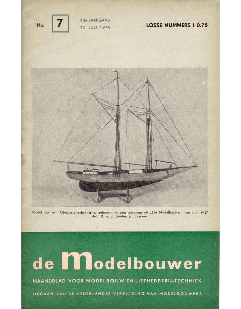 """NVM 95.48.007 Jaargang """"De Modelbouwer"""" Editie : 48.007 (PDF)"""