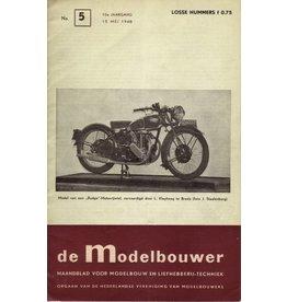 """NVM 95.48.005 Jaargang """"De Modelbouwer"""" Editie : 48.005 (PDF)"""