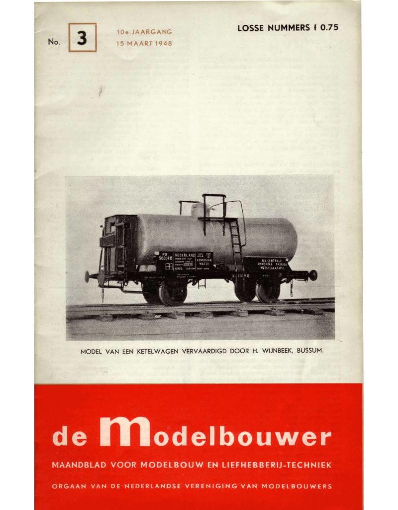 """NVM 95.48.003 Jaargang """"De Modelbouwer"""" Editie : 48.003 (PDF)"""
