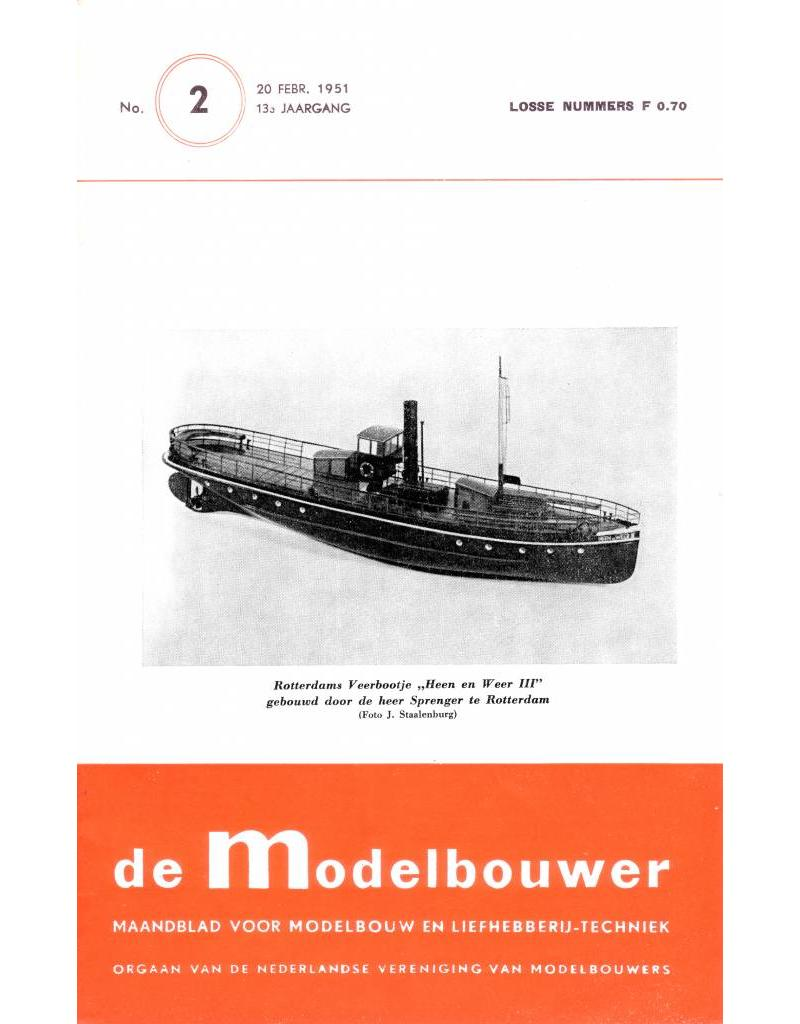 """NVM 95.51.002 Jaargang """"De Modelbouwer"""" Editie : 51.002 (PDF)"""