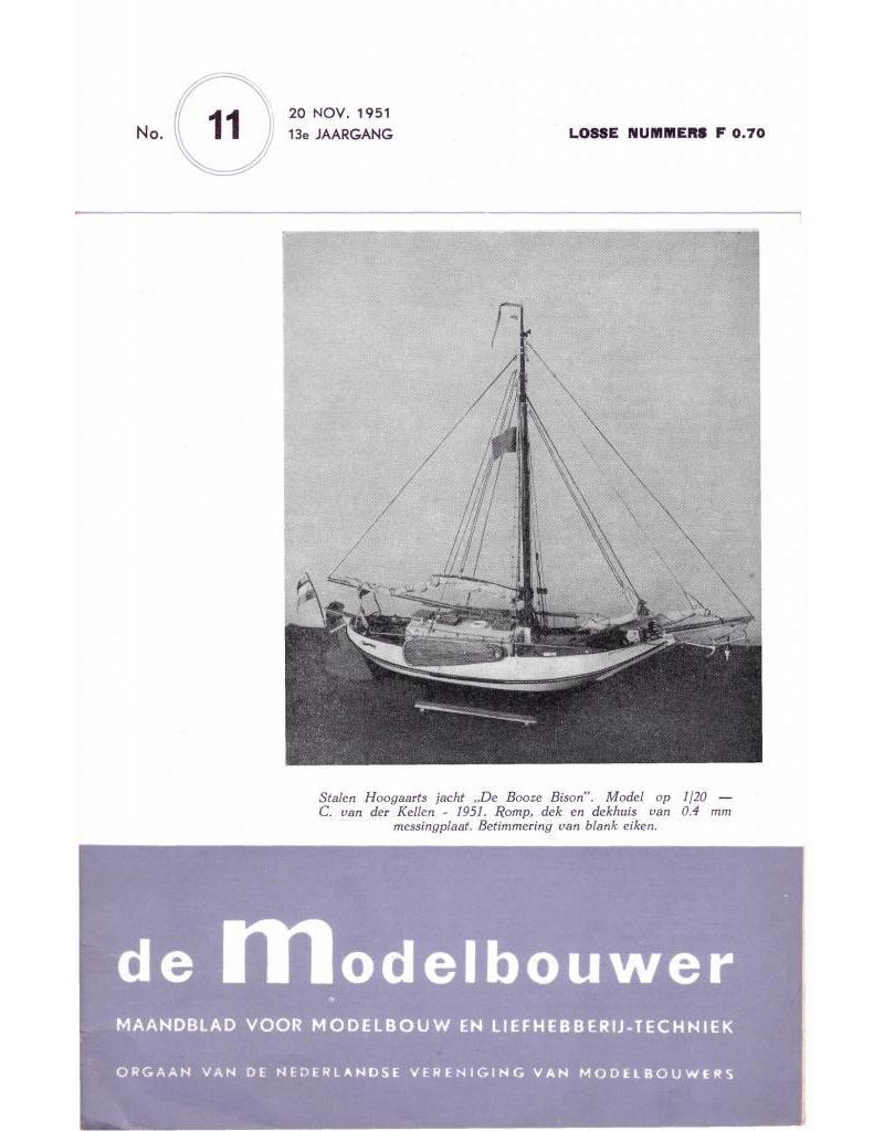 """NVM 95.51.011 Jaargang """"De Modelbouwer"""" Editie : 51.011 (PDF)"""