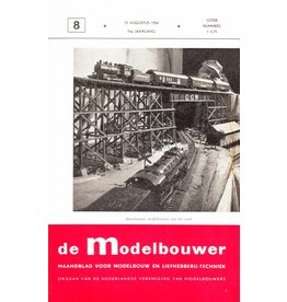 """NVM 95.54.008 Jaargang """"De Modelbouwer"""" Editie : 54.008 (PDF)"""