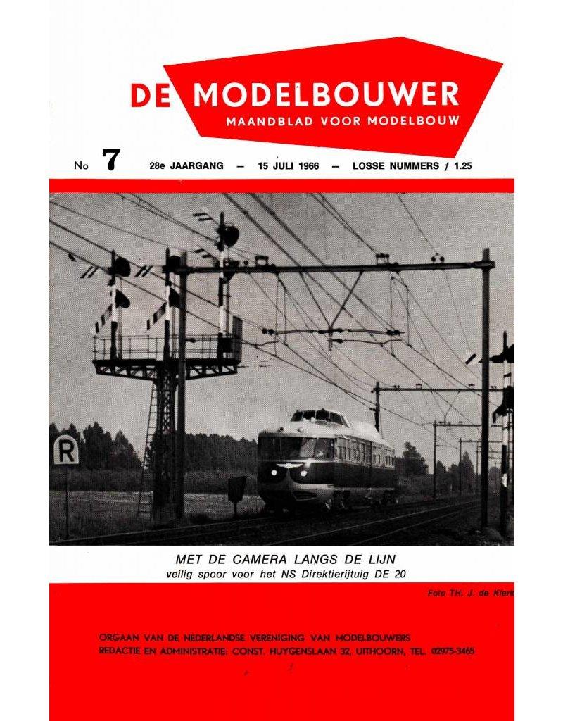 """NVM 95.66.007 Jaargang """"De Modelbouwer"""" Editie : 66.007 (PDF)"""