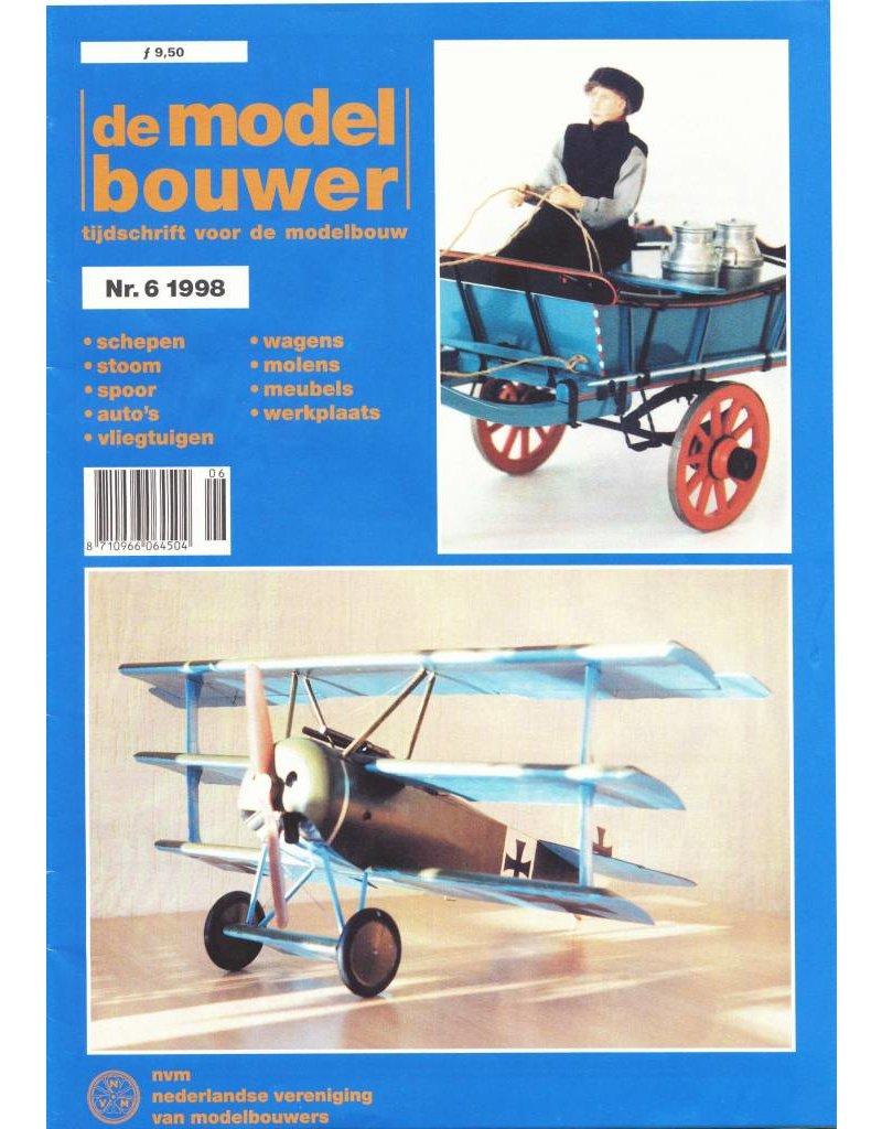 """NVM 95.98.006 Jaargang """"De Modelbouwer"""" Editie : 98.006 (PDF)"""