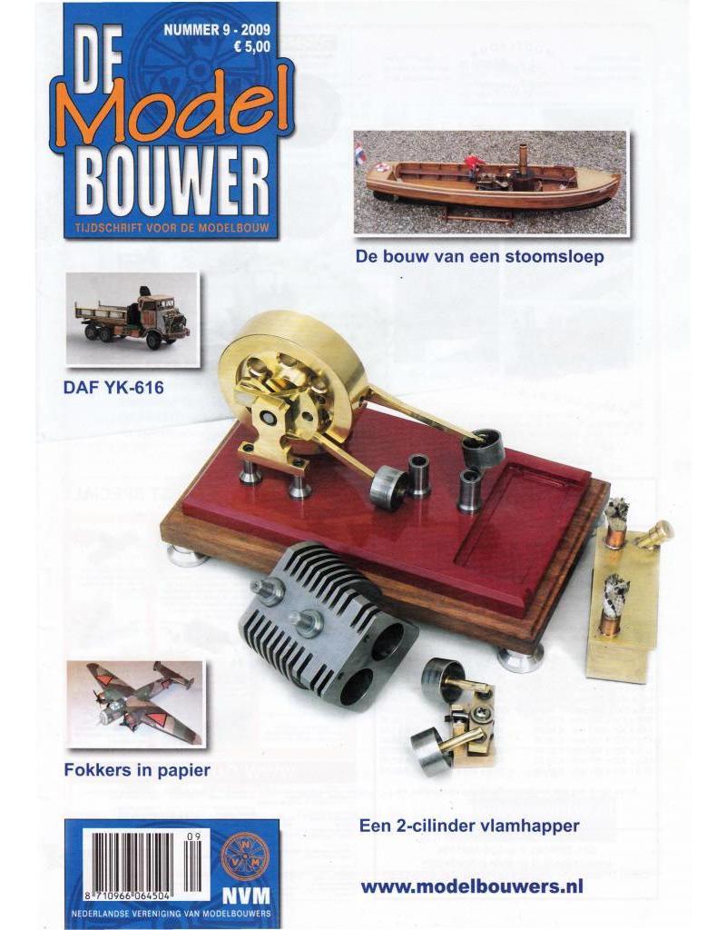 """NVM 95.09.009 Jaargang """"De Modelbouwer"""" Editie : 09.009 (PDF)"""