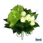 Boeket anthurium groen