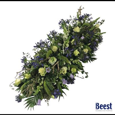 Kistbedekking  Veldbloemen